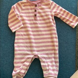 Comfy 3-6m pink and rose Gymboree playsuit